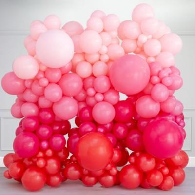 Стена из воздушных шаров любовь 2,5*2,5м