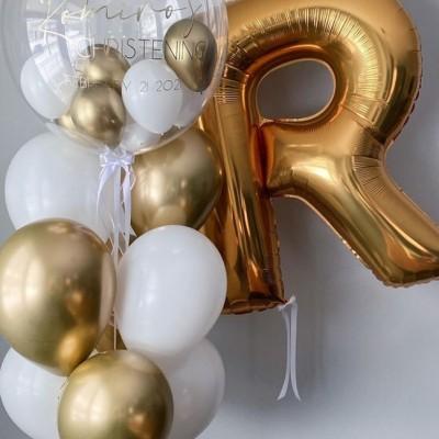 Воздушные шарики буквы
