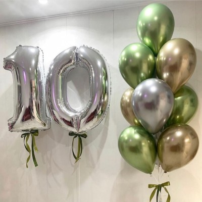Воздушные шары 10 лет