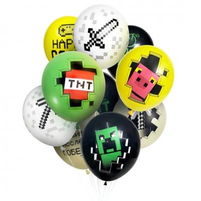 Воздушные шары Пиксели