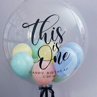 Большой шар с шарами внутри