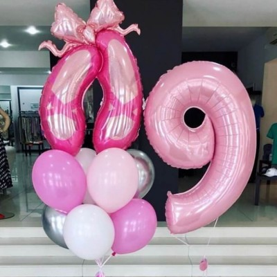 Воздушные шары для балерины