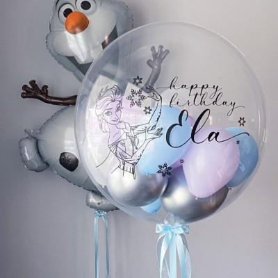 Воздушный шарик Холодное Сердце и Олаф