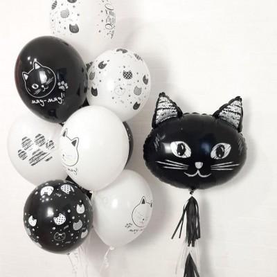 Воздушные шары котики