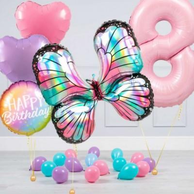 Шары на 8 лет Бабочка