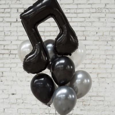 Воздушные шары ноты