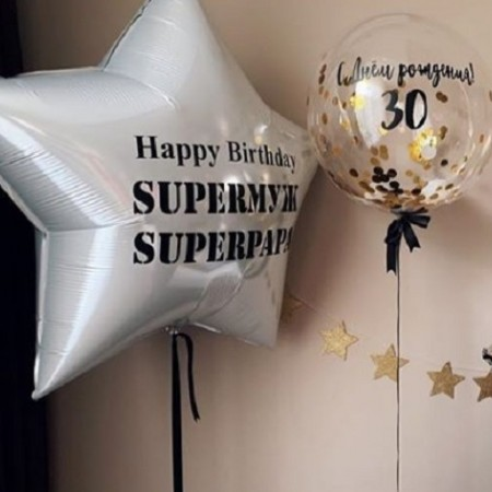Топ 7 воздушных шаров для мужчин по мнению наших покупателей