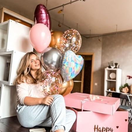 Почему стоит дарить коробку-сюрприз с воздушными шарами