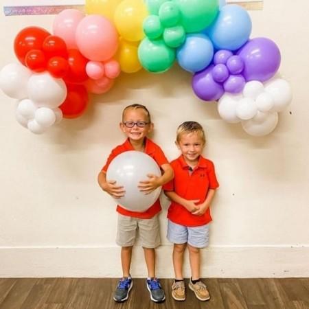 6 супер идей украшения воздушными шарами на день рождения