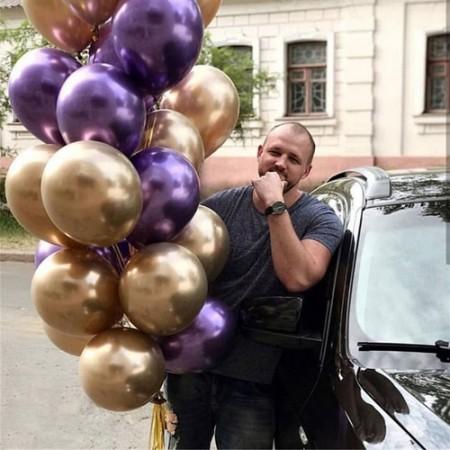 Шарики на день рождения мужчине