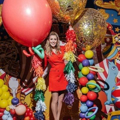 Какие воздушные шары выбирают российские звезды для своих праздников.